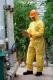 Chemieschutzoverall Kat. III Typ 3, 4, 5, 6 Schutzanzug Chemikalienanzug Gr. XXL