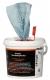 Wiper Bowl im Spendereimer 72 feuchte Reinigungstücher Putztücher Handtücher Polytex